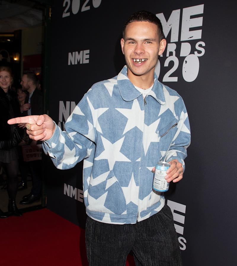 Slowthai at the NME Awards (Photo: Jo Hale via Getty Images)