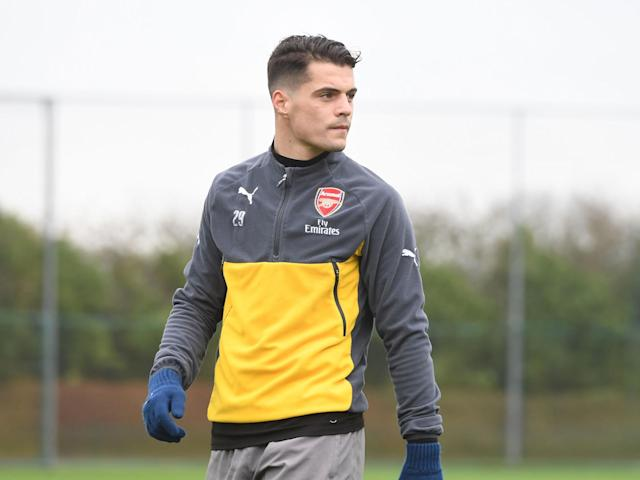 Granit Xhaka has struggled to adapt to life in the Premier League: Getty