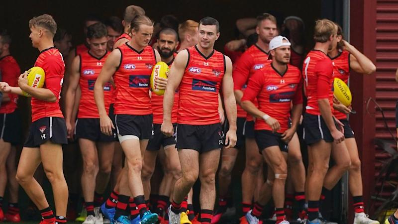 All AFL players must be tested for COVID-19 before training in full squads can resume