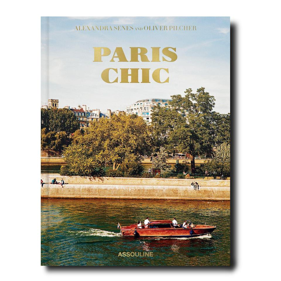 """<p>assouline.com</p><p><a href=""""https://go.redirectingat.com?id=74968X1596630&url=https%3A%2F%2Fwww.assouline.com%2Fproducts%2Fparis-chic&sref=https%3A%2F%2Fwww.townandcountrymag.com%2Fleisure%2Farts-and-culture%2Fg33793830%2Fbest-fall-books-2020%2F"""" rel=""""nofollow noopener"""" target=""""_blank"""" data-ylk=""""slk:Shop Now"""" class=""""link rapid-noclick-resp"""">Shop Now</a></p><p>The word chic is almost synonymous with Paris, but it's a cliche for a reason: there's simply no other city quite like the sophisticated European capital. Author Alexandra Senes and photographer Oliver Pilcher team up to look inside some of the most elegant homes in Paris, showing the human (yet still impossibly glamorous) side of the City of Love. This is the perfect book to add to your coffee table this fall.</p>"""