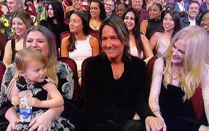 Kelly Clarkson, River, Keith Urban and Nicole Kidman