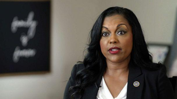 PHOTO: Maryland State Del. Vanessa Atterbeary, pictured in an image made from video while she spoke with ABC News, was instrumental in the passage of police reform legislation in Maryland. (ABC News)