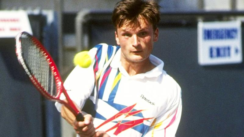 Alexander Volkov, pictured here during an ATP match in 1992.