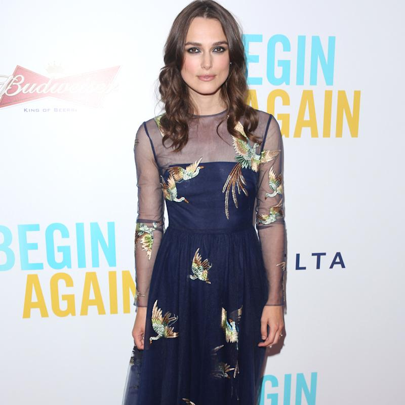Keira Knightley: Singing frightened me