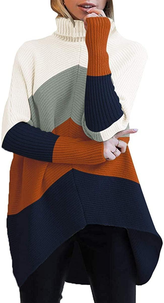 <p>Go for something fun and get this <span>Turtleneck Long Sleeve Sweater</span> ($36).</p>