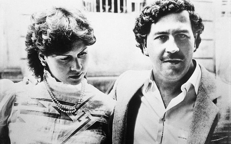 Escobar married Maria Victoria Henao in 1976 - Getty