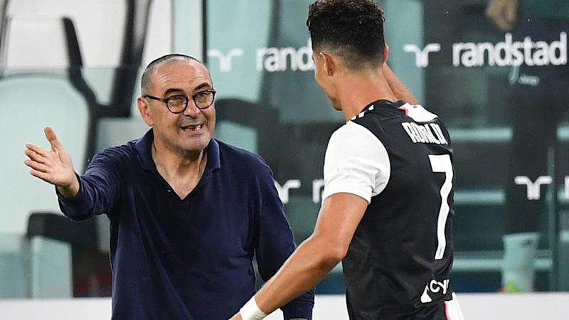 'If Juve can win with me, we must be good!' - Sarri all smiles after claiming first Serie A crown