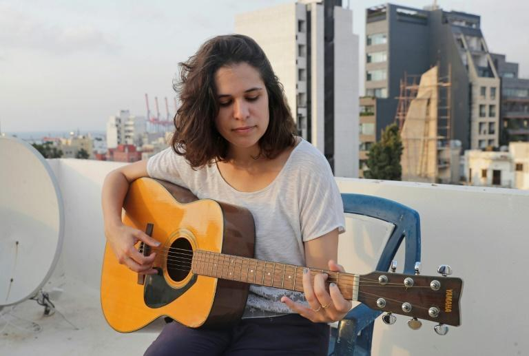 Musician Julia Sabra says she now feels unsafe at home in her building facing Beirut port