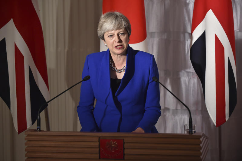 UK, Japan to hike 'pace of sanctions' against North Korea: May