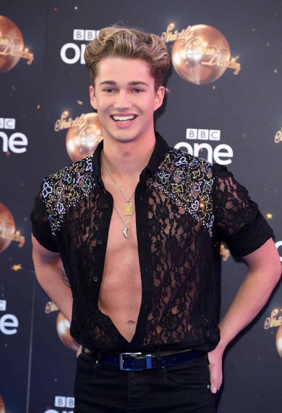 AJ Pritchard at the Strictly launch in 2018 (Photo: Karwai Tang via Getty Images)