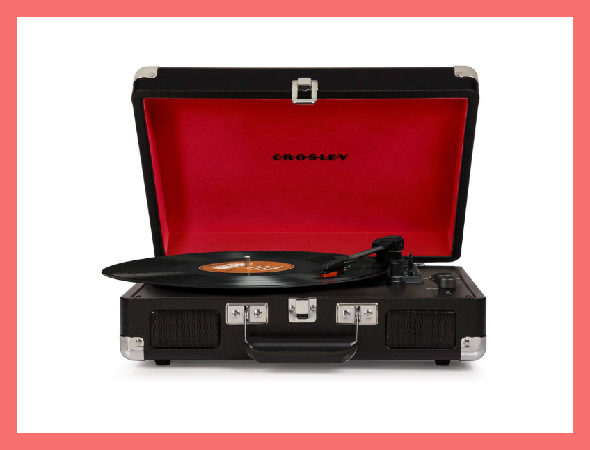 Crosley Cruiser Deluxe Stereo Turntable. (Photo: Walmart)