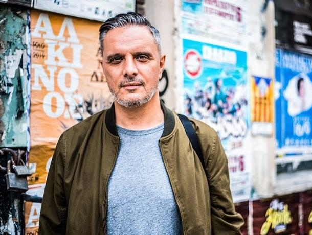 Steve Vranakis, Greece's Chief Creative Officer, has called on countries to turn to design and the creative industries to help solve real-world problems (Handout)