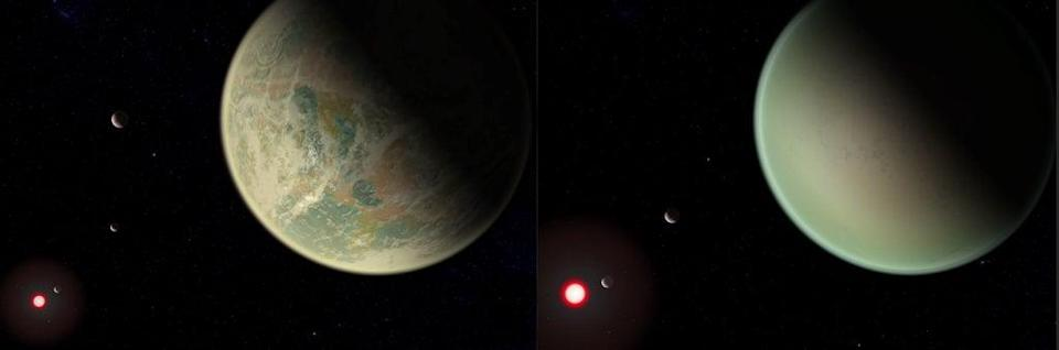 Astronomers have previously concentrated on looking for planets that are similar to Earth in the hunt for life (PA) (PA Media)
