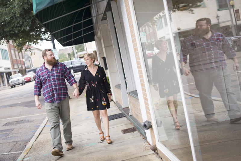 "Erin and Ben Napier, the couple on HGTV's show ""Home Town,"" announced they will soon welcome their first child together."