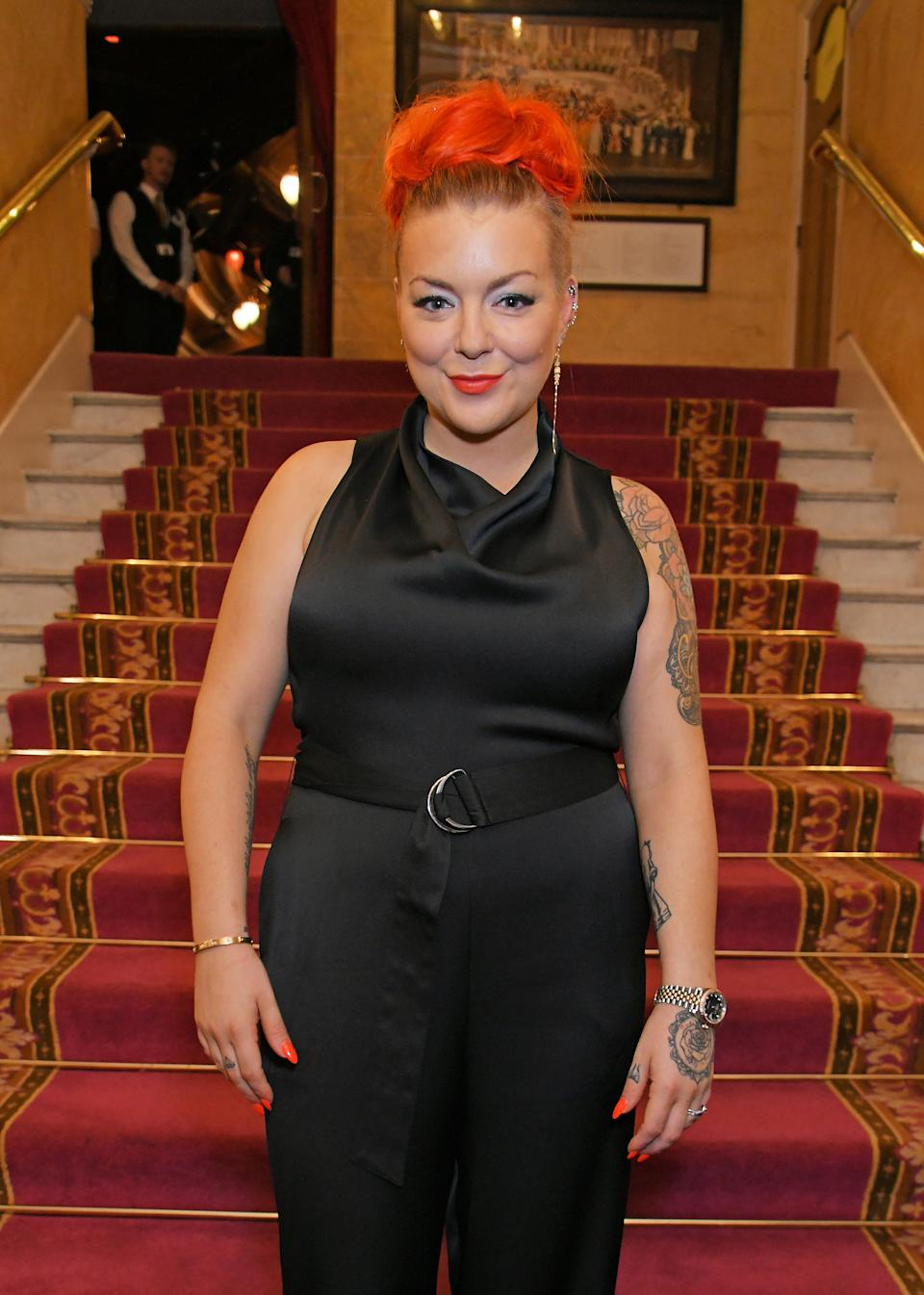 Sheridan says she's finally found peace (Photo by David M. Benett/Dave Benett/Getty Images)