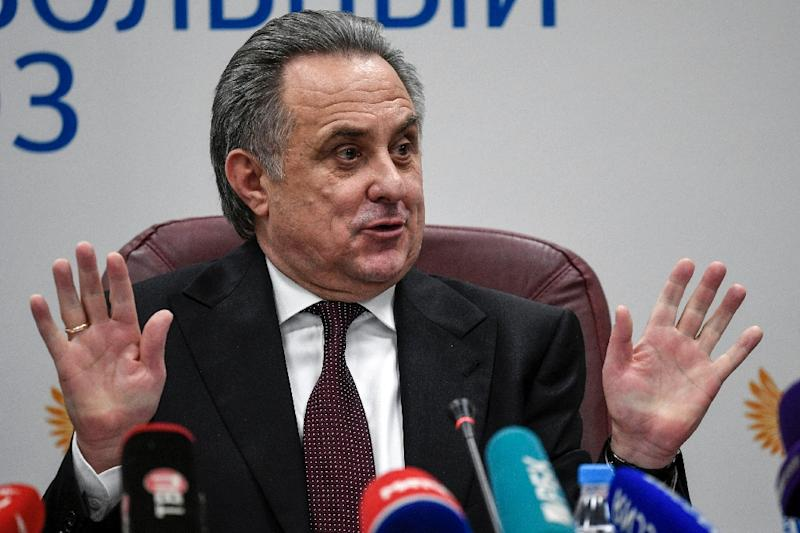 Mutko steps down as president of Russian Football Union