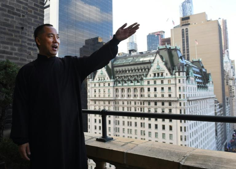 Billionaire Guo Wengui, is seeking asylum in the United States after accusing officials in his native China of corruption