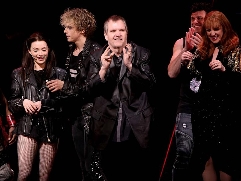 Meat Loaf sings onstage for first time in two years