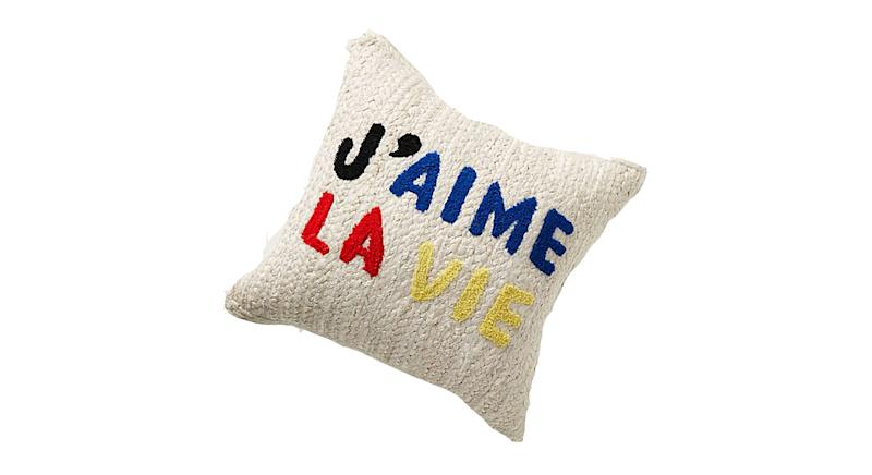 Clare V. for Anthropologie Maisonette Jute Cushion