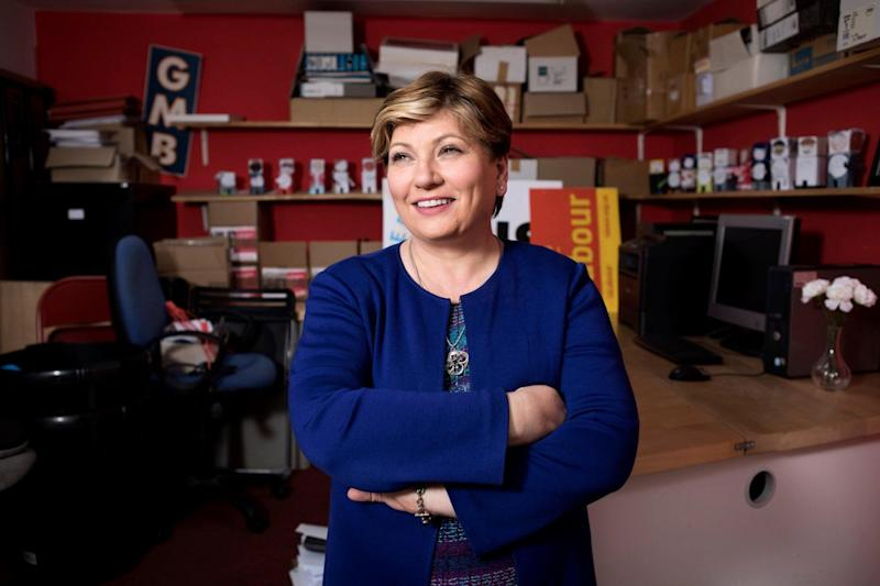 The waiting game: Emily Thornberry at her Islington South office in the 'leafy lanes' of the borough
