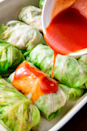 "<p>These will change the way you think about cabbage, promise.</p><p>Get the recipe from <a href=""https://www.delish.com/cooking/recipe-ideas/a20958094/low-carb-cabbage-enchilada-recipe/"" rel=""nofollow noopener"" target=""_blank"" data-ylk=""slk:Delish"" class=""link rapid-noclick-resp"">Delish</a>.</p>"