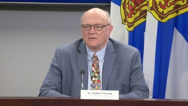 Chief Medical Officer of Health Dr. Robert Strang says the spread of COVID-19 among unvaccinated people will put pressure on an already strained health-care system. (CBC - image credit)