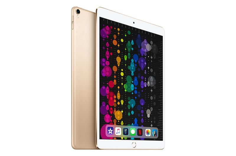 This gold 10.5-inch iPad is a thing of beauty. (Photo: Walmart)