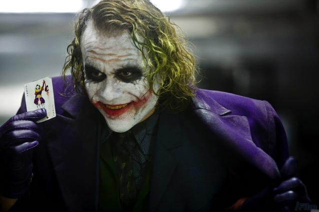 Heath Ledger as the Joker in <em>The Dark Knight</em> (Photo: Warner Bros.)