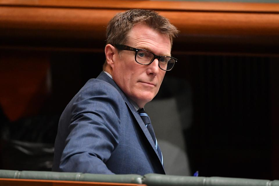 Attorney-General Christian Porter during Question Time in the House of Representatives. Source: AAP