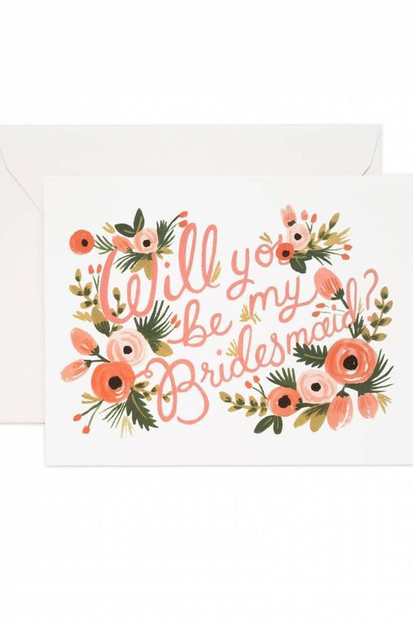 What's Written Inside that Cute Little Bridesmaid Card is a Beautiful Thing