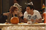 """<p>In the season 2 episode """"Halloween,"""" the gang has to face the scariest thing of all: commitment. While Jess tries to decide if she has real feelings for her casual fling, Nick accidentally winds up in a serious relationship with an old college flame. And as Winston sees that his relationship may be ending, Schmidt is forced to accept that Cece isn't single anymore. It all comes to a head in the most <em>New Girl</em> way possible—at Jess's haunted house. </p><p><a class=""""link rapid-noclick-resp"""" href=""""https://www.netflix.com/title/70196145#:~:text=201113%2B%205%20SeasonsTV,Deschanel%2C%20Jake%20Johnson%2C%20Max%20Greenfield"""" rel=""""nofollow noopener"""" target=""""_blank"""" data-ylk=""""slk:Watch now"""">Watch now</a></p>"""
