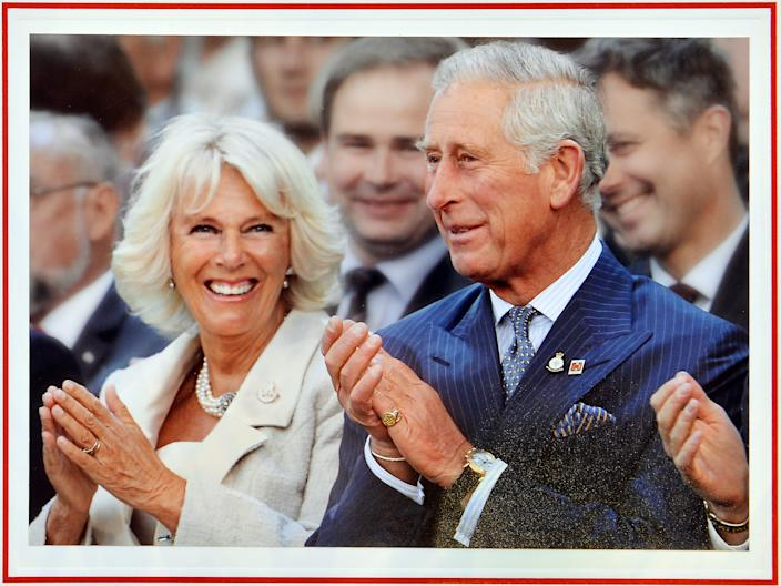 Prince Charles and Camilla Christmas Card 2014