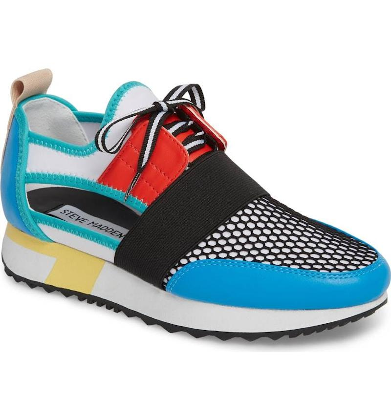 1. Mixed Media Kicks: Sneakers boasting futuristic details, like mesh  panels and intergalactic add-ons, are out-of-this-world. Brit + Co Pick: Steve  Madden ...