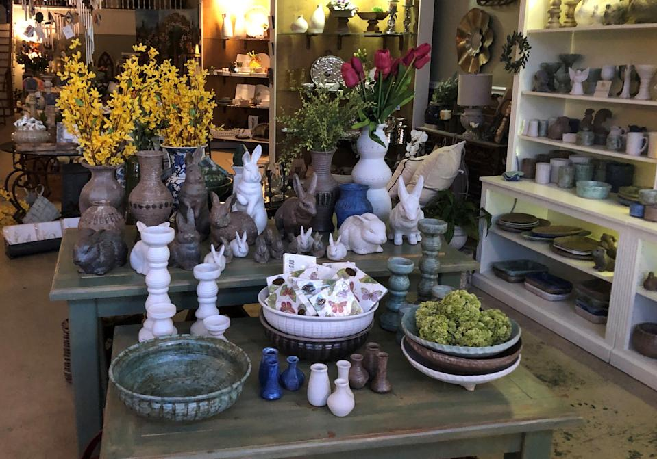 The Brooks Collection introduced virtual shopping via FaceTime so consumers can see the pottery, gifts and home goods sold at the Collierville, Tennessee gift shop without going into the store.