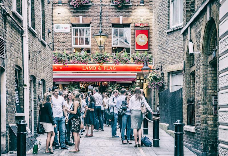 An essential stop on all pub crawls through London - getty