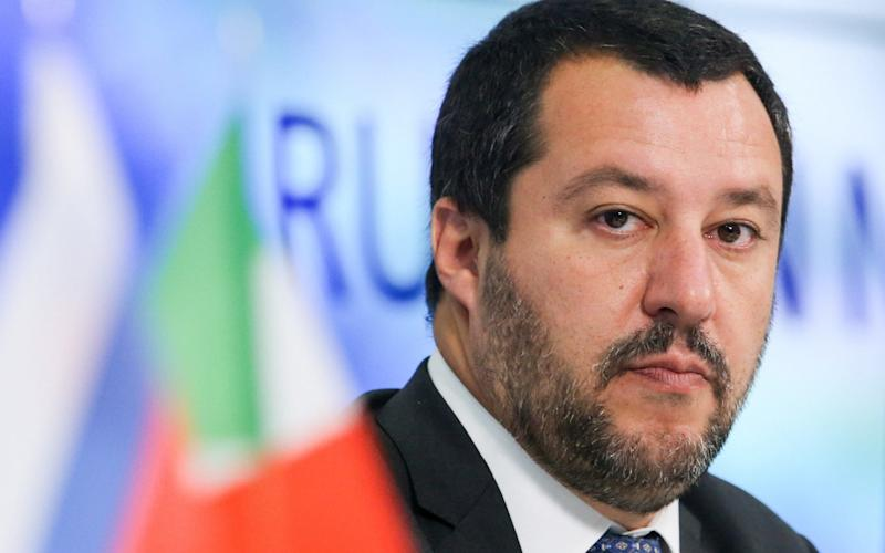 During a visit to Moscow, Matteo Salvini said that Rome might block the renewal of sanctions that have been in place since 2014  - TASS