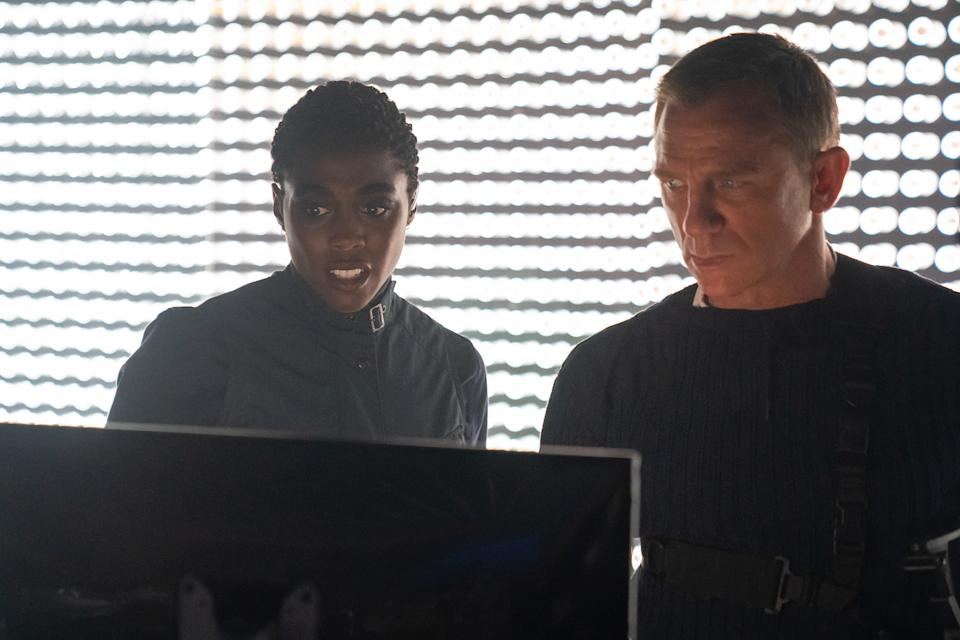 Lashana Lynch and Daniel Craig in No Time To Die. (Photo: United International Pictures)