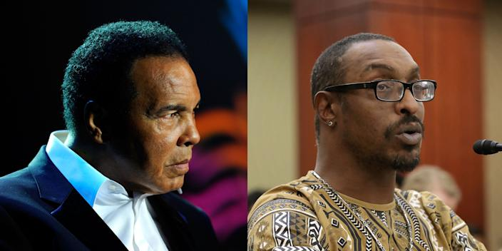 Muhammad Ali Jr. (R) said his father, the legendary late boxer and activist Muhammad Ali wouldn't support Black Lives Matter.