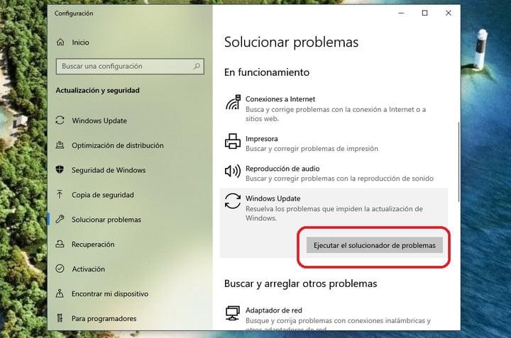 Solucionar de problemas windows 10 para una instalación de Windows 10