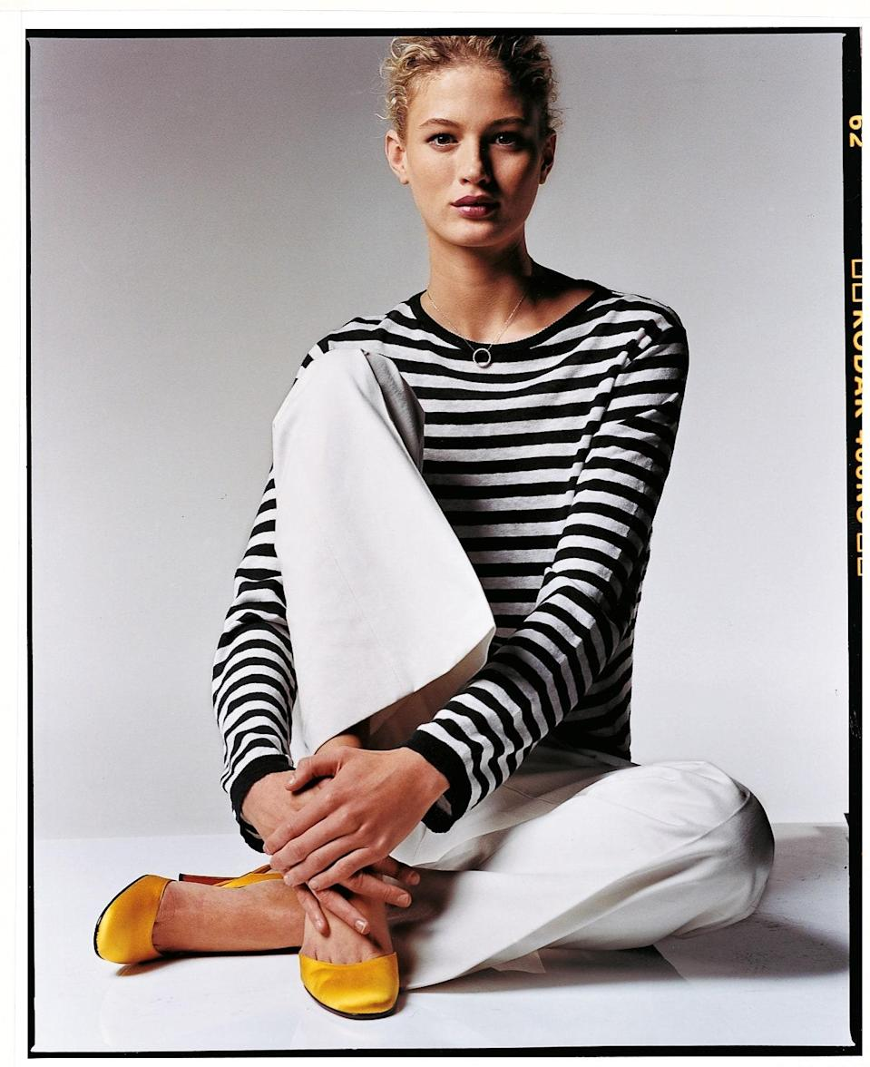 "<cite class=""credit"">Photographed by Chris Militscher, <em>Vogue</em>, March 2003</cite>"
