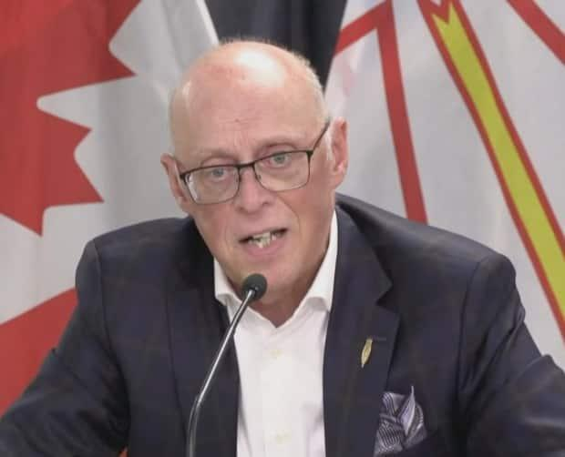 Newfoundland and Labrador Health Minister John Haggie said a meeting on Thursday with paramedics and NAPE president Jerry Earle was