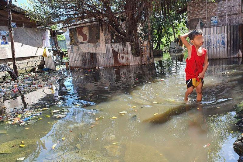 Kinasang-an calls on City Government to solve flood problem