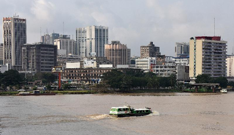The Plateau commercial district of Abidjan, Ivory Coast is seen in 2014 (AFP Photo/SIA KAMBOU)
