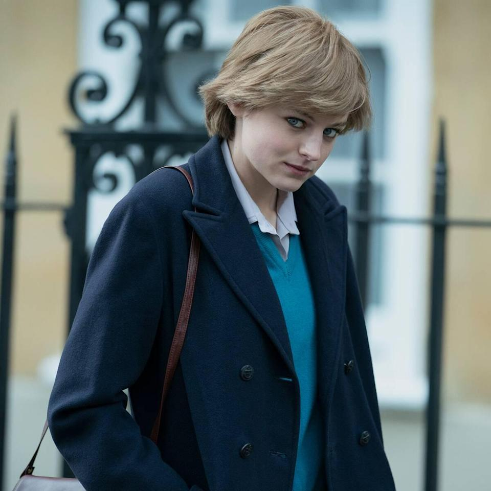 Why Emma Corrin Wanted to Highlight Princess Diana's Bulimia Battle in The Crown