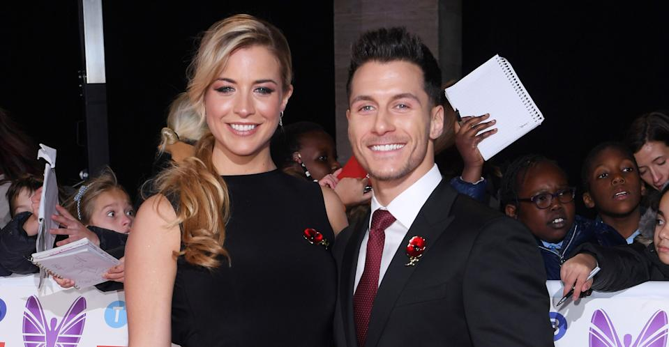 Gemma Atkinson and Gorka Marquez pictured in 2018. (REX/Shutterstock)