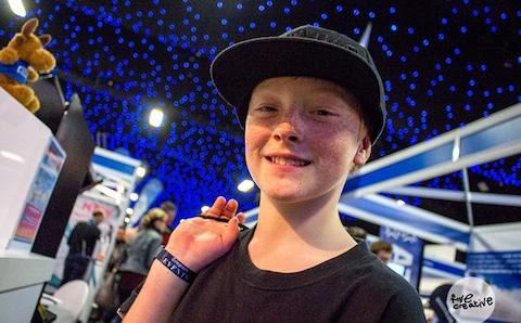 <span>12-year-old Bradley Fry is a rising star of the sport</span>