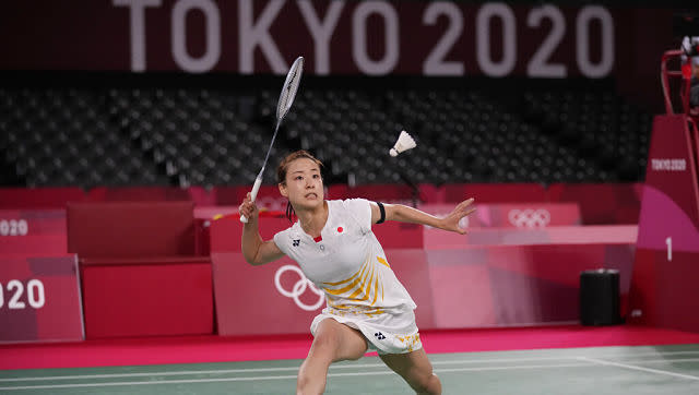 In another disappointing outcome for hosts fans in badminton, Nozomi Okuhara bowed out of women's singles badminton following a 13-21, 21-13, 21-14 loss to China's He Bingjiao in a last16 clash. AP