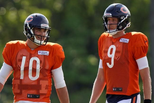 Bears looking to bounce back with Trubisky or Foles at QB