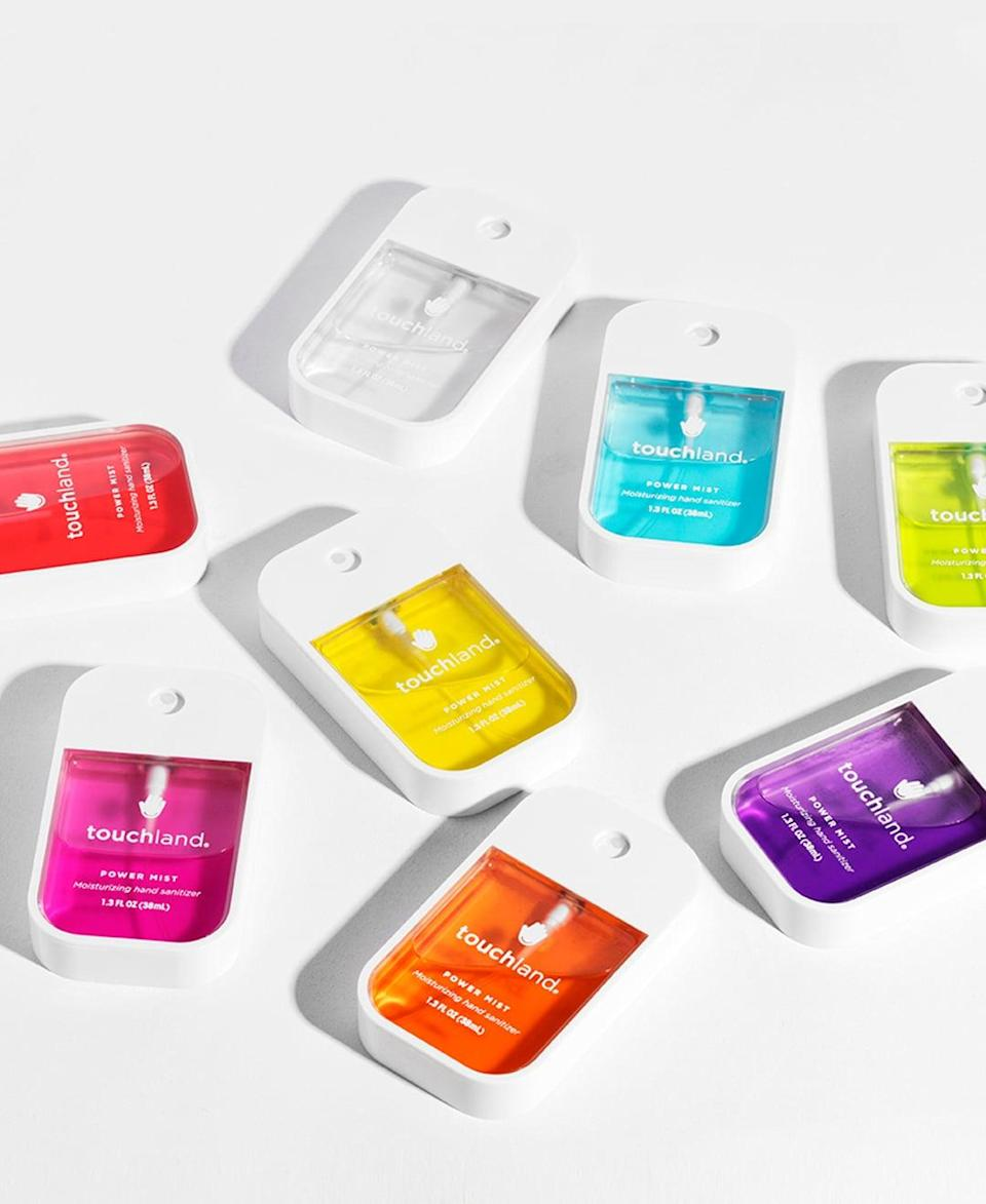 <p>Keep yourself and your friends safe and protected with the most stylish hand sanitzers on the market, the <span>Touchland Rainbow Collection 8-Bundle</span> ($70, originally $96). Touchland donating 10% of sales from the Rainbow Collection to Miami based Pridelines Community Center throughout the month of June.</p>