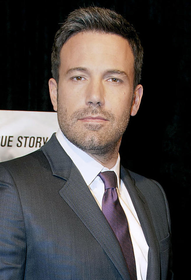 "Damon's BFF Ben Affleck, 40, is also not bothering to cover up the gray. The ""Argo"" actor debuted a salt-and-pepper hairstyle and beard in 2010, the same   year that ""The Town,"" the second movie he's directed, hit theaters — a fact that's not lost on him. ""It's there, it's present. I can acknowledge it!"" Affleck said of his silvery strands while   promoting the film. ""I didn't have a single gray hair until I started directing movies. It gives you gray hair. That and my brother [actor Casey]."" (10/10/2012)"
